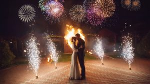 Safe and Secure Ideas to Use Fireworks on a Wedding